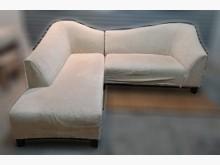 [8成新] L型布沙發L型沙發有輕微破損