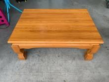 [9成新] 實木和室長方桌H02880茶几無破損有使用痕跡