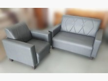 [全新] 全新灰色2+1貓抓皮沙發多件沙發組全新