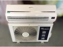 [8成新] 惠而浦一噸變頻冷暖分離式冷氣分離式冷氣有輕微破損