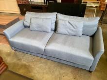 [9成新] 保存佳三人布沙發組雙人沙發無破損有使用痕跡