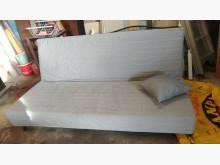 [9成新] 【尚典】灰色三人座布沙發床沙發床無破損有使用痕跡