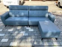 [全新] 新品蒼青藍貓抓皮L型沙發L型沙發全新