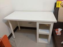 [9成新] IKEA 白色開放層櫃書桌組書桌/椅無破損有使用痕跡