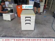 [7成新及以下] K15360 58 活動櫃辦公櫥櫃有明顯破損