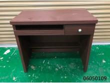 [9成新] 06050109 胡桃電腦書桌電腦桌/椅無破損有使用痕跡
