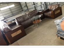 [9成新] (二手)柚木1+2+3布沙發組多件沙發組無破損有使用痕跡