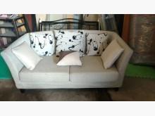 [9成新] 【尚典中古家具】米白兩人座布沙發雙人沙發無破損有使用痕跡