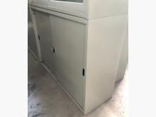 [8成新] (二手)四尺鐵拉門文件櫃辦公櫥櫃有輕微破損