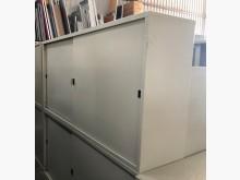 [8成新] (二手)六尺鐵拉門文件櫃辦公櫥櫃有輕微破損