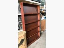 [7成新及以下] (二手)木製書報架書櫃/書架有明顯破損