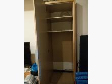 [9成新] 客廳用電視櫃旁的高櫃收納櫃高低櫃無破損有使用痕跡