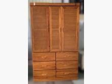 [7成新及以下] B63004*半實木6抽衣櫃*衣櫃/衣櫥有明顯破損