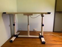 [9成新] 兒童成長期專用升降書桌(首席)書桌/椅無破損有使用痕跡