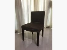 [9成新] 【典雅咖啡色可拆式布桌椅】7張餐椅無破損有使用痕跡