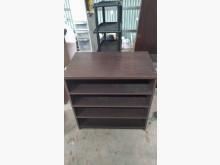 [9成新] 【尚典中古家具】胡桃塑料四層置物其它櫥櫃無破損有使用痕跡