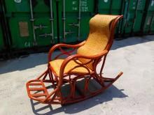 [9成新] 連欣二手傢俱-藤製搖椅/躺椅籐製沙發無破損有使用痕跡