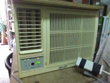 [7成新及以下] 連欣二手家電-S&D窗型冷氣機窗型冷氣有明顯破損