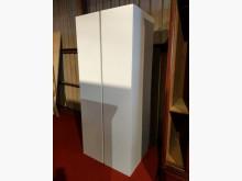 [9成新] IKEA雪白雙拼衣櫃衣櫃/衣櫥無破損有使用痕跡