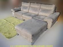 [9成新] 二手歐得葆灰280公分L型布沙發L型沙發無破損有使用痕跡