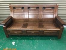 [9成新] 二手/中古 3人木製沙發木製沙發無破損有使用痕跡