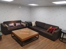[9成新] 豪宅釋出大器非凡3+2布沙發多件沙發組無破損有使用痕跡