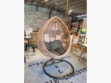 [9成新] 九成新免出國峇里島風水滴吊籃藤編籐製沙發無破損有使用痕跡