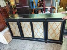 [9成新] 伊莎艾倫金邊銅面長座櫃其它櫥櫃無破損有使用痕跡