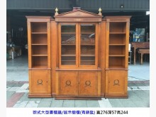 [8成新] 歐式貴族大型展示書櫃 有鎖匙書櫃/書架有輕微破損