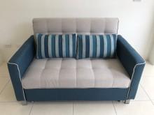 [全新] 大慶二手家具 新品克萊德鐵架沙發雙人沙發全新