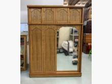 [9成新] B73101*原木色衣櫃*衣櫃/衣櫥無破損有使用痕跡