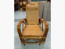[9成新] 竹編編織單人椅沙發*藤沙發籐製沙發無破損有使用痕跡