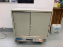 [9成新] C80402*3尺公文櫃*辦公櫥櫃無破損有使用痕跡