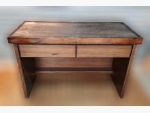 [8成新] 檜木書桌書桌/椅有輕微破損