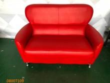 [9成新] 二手/中古 紅色雙人沙發雙人沙發無破損有使用痕跡