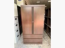 [9成新] 香榭*胡桃色3x6尺 下二抽衣櫃衣櫃/衣櫥無破損有使用痕跡