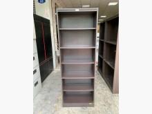 [8成新] 香榭*胡桃色2x6尺 開放式書櫃書櫃/書架有輕微破損