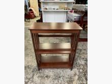 [8成新] 香榭二手家具*胡桃木2尺 置物架其它櫥櫃有輕微破損