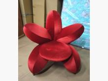 [7成新及以下] 二手紅色單人休閒椅 桃園區免運費單人沙發有明顯破損