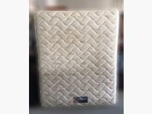 [8成新] B82101*白花色雙人床墊*雙人床墊有輕微破損