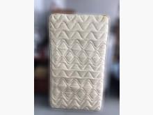 [9成新] B82102*黃花色3.5尺床墊單人床墊無破損有使用痕跡