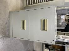 [9成新] 大慶二手家具 二抽辦公資料櫃辦公櫥櫃無破損有使用痕跡