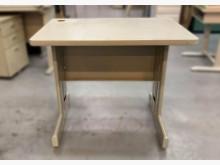 [9成新] C82503*白面書桌*書桌/椅無破損有使用痕跡