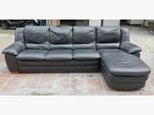 [9成新] 三合二手物流(義大利牛皮沙發)L型沙發無破損有使用痕跡