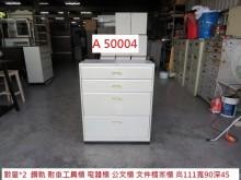 [9成新] A50004 鋼軌 耐重工具櫃辦公櫥櫃無破損有使用痕跡