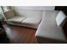 [9成新] L型米色布沙發L型沙發無破損有使用痕跡