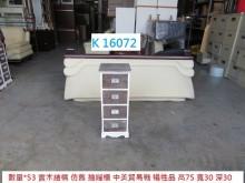 [95成新] K16072 抽屜櫃 收納櫃收納櫃近乎全新