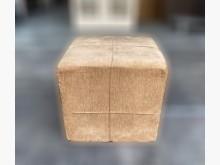 [9成新] F90307*咖啡色腳椅*沙發矮凳無破損有使用痕跡