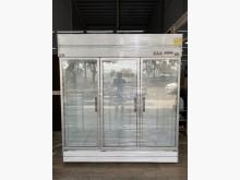 [全新] 吉田二手傢俱❤全新三門玻璃型冰箱冰箱全新