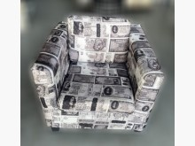 [9成新] A90401*外幣造型單人沙發單人沙發無破損有使用痕跡
